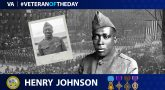 Henry Johnson - Veteran of the Day