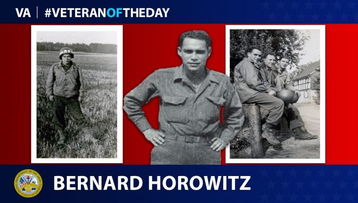 Bernard Horowit - Veteran of the Day