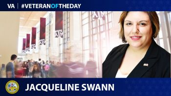 Jacqueline Swann - Veteran of the Day