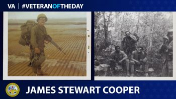 James Cooper - Veteran of the Day