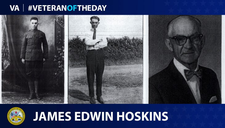 James Hoskins - Veteran of the Day