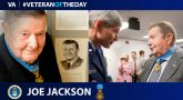 Joe Jackson - Veteran of the Day