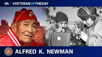 Alfred Newman - Veteran of the Day