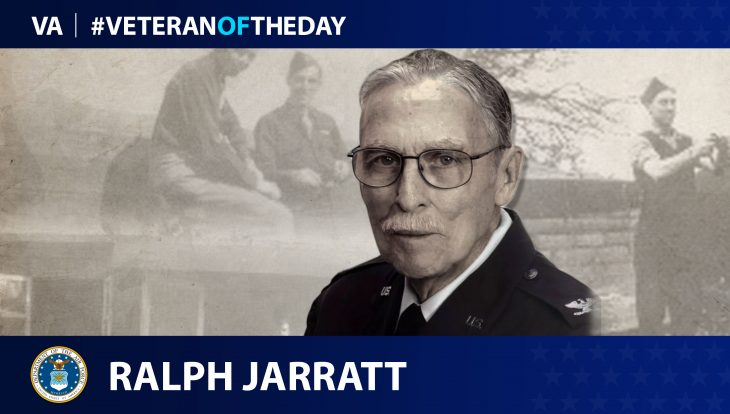 Ralph Jarratt - Veteran of the Day