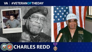 Charles Redd - Veteran of the Day