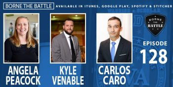 Angela Peacock, Kyle Venable, Carlos Caro - Borne the Battle