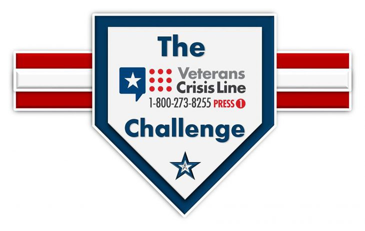 Veterans Crisis Line Challenge graphic using Veterans Crisis Line number and logo. The Veterans Crisis Line Challenge, which is commonly referred to as the VCL Challenge is completed by someone who programs the VCL phone number [1-800-273-8255 and Press 1] to their phone contacts list and then posts a photo or video of it on social media sites as proof. (U.S. Department of Veterans Affairs info graphic by Luis H. Loza Gutierrez)