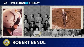 Robert Bendl - Veteran of the Day