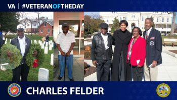 Charles Felder - Veteran of the Day