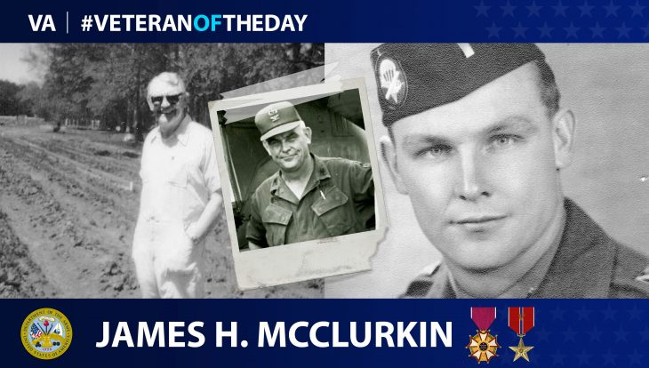 James H. McClurkin - Veteran of the Day