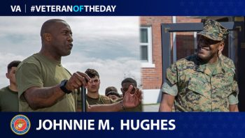 Johnnie Hughes - Veteran of the Day