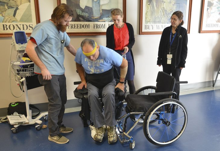 When Juntunen takes the device home, companions trained to assist will replace the VA trainers.