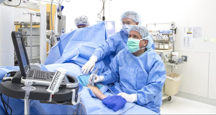IMAGE: Photo of surgical procedure