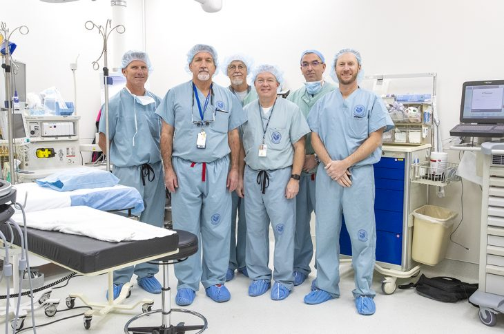 IMAGE: Group photo of surgical team