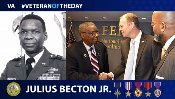 Julius Becton - Veteran of the Day