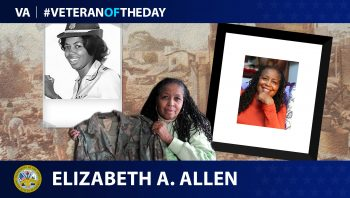 Elizabet Allen - Veteran of the Day