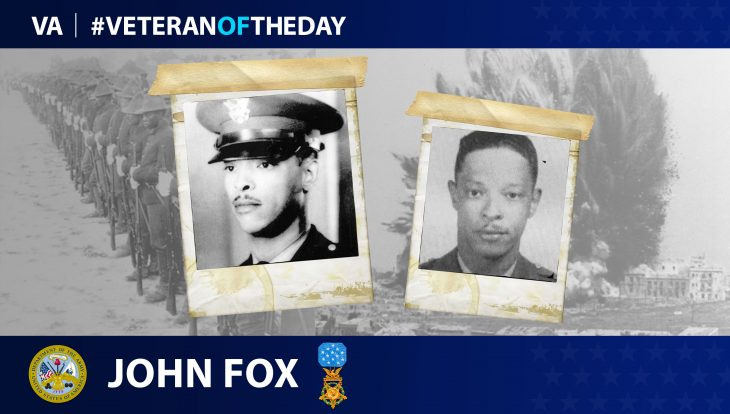 John R. Fox - Veteran of the Day