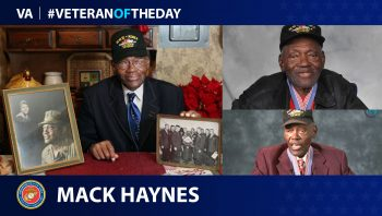 Mack Haynes - Veteran of the Day
