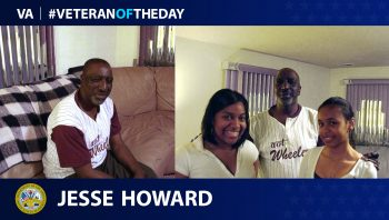 Jesse Howard - Veteran of the Day