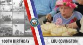 Celebrating Lou Covington's 100th Birthday and Her Service in the U.S. Navy