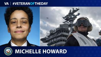 Michelle Howard - Veteran of the Day