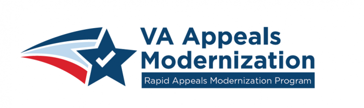graphic logo of VA Appeals Modernization Act