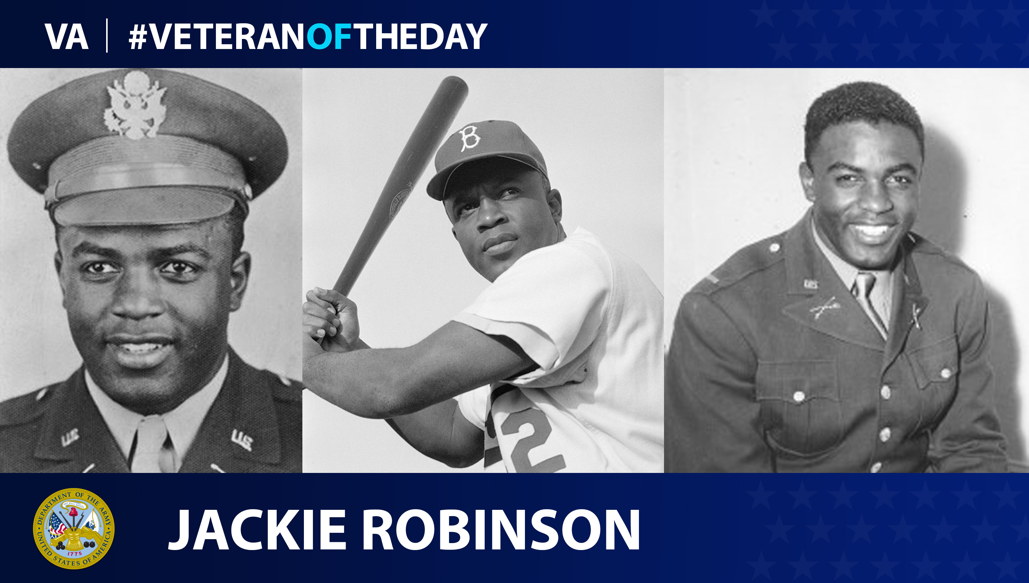 Image result for jackie robinson army
