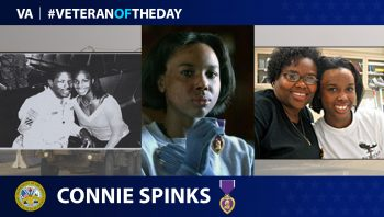Connie Spinks - Veteran of the Day