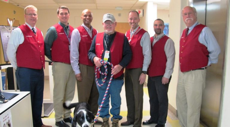 Red Coat Ambassadors are now at every VA medical center across the U.S., another way to improve the patient experience.