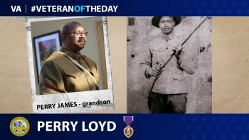 Perry Loyd - Veteran of the Day