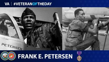 Frank E. Petersen - Veteran of the Day