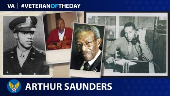 Arthur Saunders - Veteran of the Day