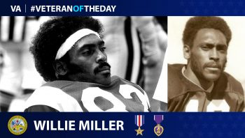 Willie Miller - Veteran of the Day