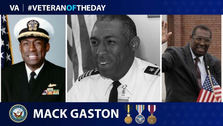 Mack Gaston - Veteran of the Day