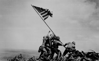 IMAGE: Flag raising on Iwo Jima