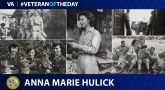Graphic showing photos of Army Veteran Anna Marie Hulick