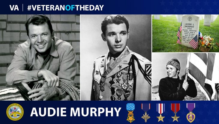 #VeteranoftheDay Audie Murphy