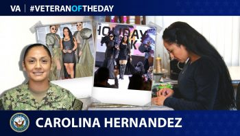 #VeteranoftheDay Carolina Hernandez