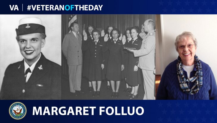 #VeteranOfTheDay Margaret Folluo
