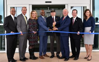 IMAGE of ribbon cutting ceremony