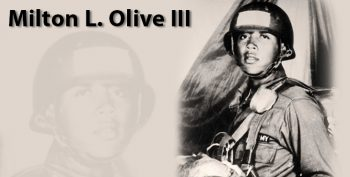 Picture of Medal of Honor recipient Vietnam Veteran Milton Olive III