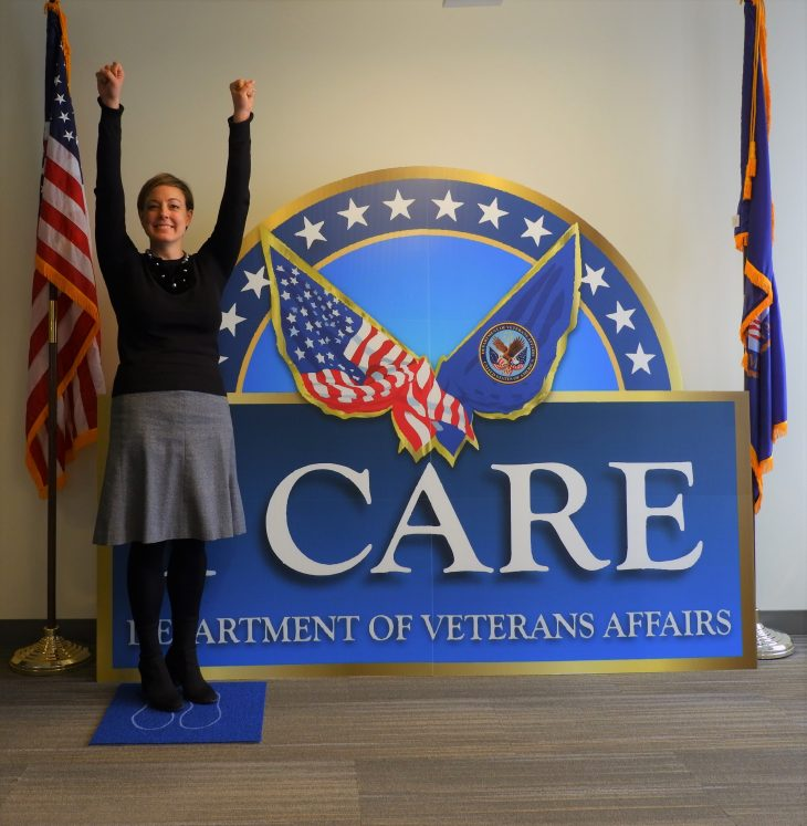 IMAGE of VA employee Natalie Gries posing for a photo