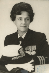 Navy Nurse Helen L. Brooks served in three wars, including WWII, Korea, and Vietnam.