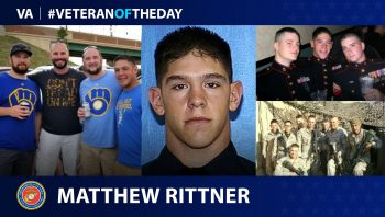 #VeteranoftheDay graphic of Matthew Rittner