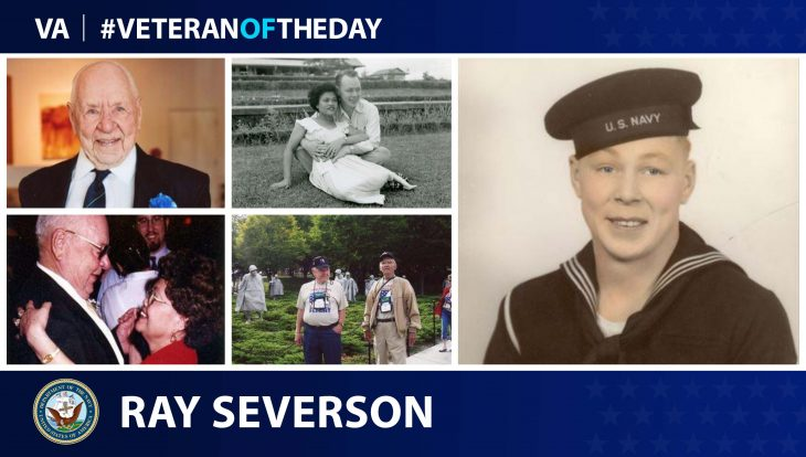 Photo Illustration of #VeteranoftheDay Ray Severson