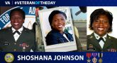 Veteran of the Day graphic for Shoshana Johnson