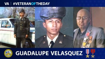 Guadalupe Velasquez - Veteran of the Day