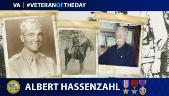 #VeteranoftheDay Albert Hassenzahl