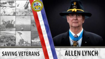 Graphic for Allen Lynch. Text reads: Saving Veterans - Allen Lynch