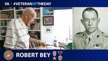 #VeteranoftheDay Robert Bey
